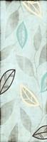 "Leaves on Blue by Kristin Emery - 6"" x 18"""