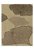 BROWN LEAVES 3 Fine Art Print