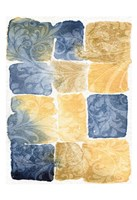 """Water Color Blocks by Kristin Emery - 13"""" x 19"""""""