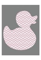 Pink Duck 1 Fine Art Print