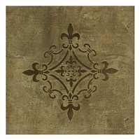 "Gold Crop by Kristin Emery - 13"" x 13"""