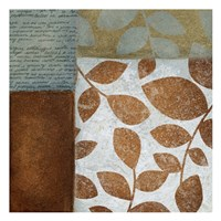"Leaf Letter 2 by Kristin Emery - 13"" x 13"", FulcrumGallery.com brand"