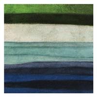 """Stripes Left by Kristin Emery - 13"""" x 13"""""""