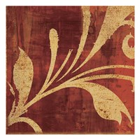 """Red Gold by Kristin Emery - 13"""" x 13"""""""