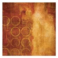 "Orange Hot 2 by Kristin Emery - 13"" x 13"""
