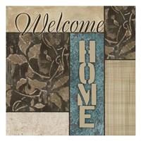 "Welcome Home by Kristin Emery - 13"" x 13"""