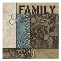 """13"""" x 13"""" Family Art"""