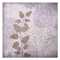 """Warm Gray Flowers by Kristin Emery - 13"""" x 13"""""""