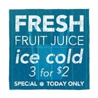 Fresh Juice Framed Print