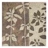 Neutral Leaves 2 Framed Print