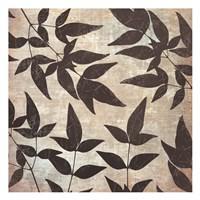 """Leaves And Swirls by Kristin Emery - 13"""" x 13"""""""