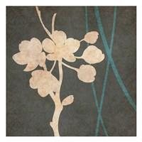 "Gray Baige Silhouette by Kristin Emery - 13"" x 13"""