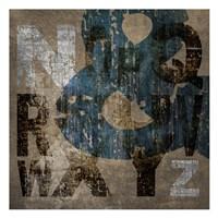 """XYZ by Kristin Emery - 13"""" x 13"""""""