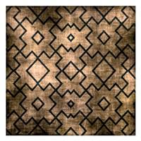 """Black on Beige Pattern by Kristin Emery - 13"""" x 13"""""""