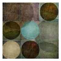 "Box of Circles A by Kristin Emery - 13"" x 13"""