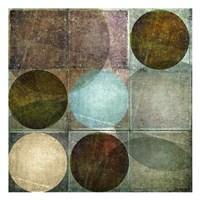 "Box of Circles 1 by Kristin Emery - 13"" x 13"""