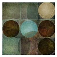 "Box of Circles B by Kristin Emery - 13"" x 13"""