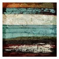 "Paint Stroke 1 by Kristin Emery - 13"" x 13"""