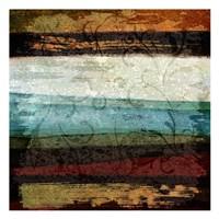 "Paint Stroke 2 by Kristin Emery - 13"" x 13"""