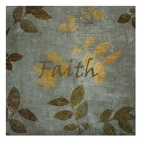 """Faith Leaves by Kristin Emery - 13"""" x 13"""""""