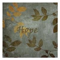 """Hope Leaves by Kristin Emery - 13"""" x 13"""""""