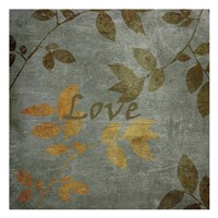 """Love Leaves by Kristin Emery - 13"""" x 13"""""""