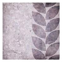 "Purple Leaves by Kristin Emery - 13"" x 13"""
