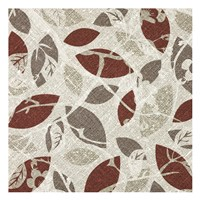 "Burgundy Gray Fall B by Kristin Emery - 13"" x 13"""