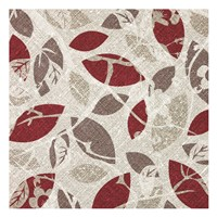 "Burgundy Gray Fall C by Kristin Emery - 13"" x 13"""