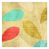 "Vivd Leaves by Kristin Emery - 13"" x 13"""