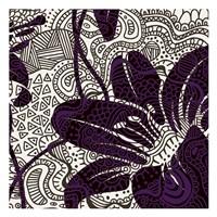 "Funky Flower B by Kristin Emery - 13"" x 13"""