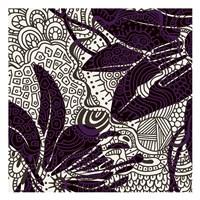"Funky Flower C by Kristin Emery - 13"" x 13"""