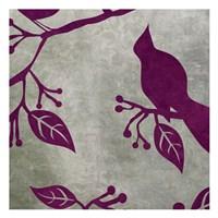 Birds & Leaves 2 Fine Art Print