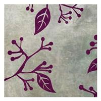 "Birds & Leaves 3 by Kristin Emery - 13"" x 13"""