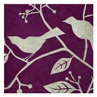 "Birds & Leaves 4 by Kristin Emery - 13"" x 13"" - $12.99"