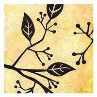 """Birds&Leaves B&G 1 by Kristin Emery - 13"""" x 13"""""""