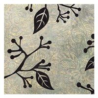 """Birds & Leaves B&G 3 by Kristin Emery - 13"""" x 13"""" - $12.99"""