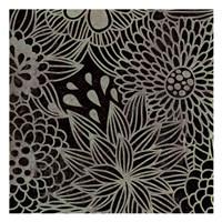 """Stencil Floral II by Kristin Emery - 13"""" x 13"""""""