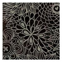 """Stencil Floral III by Kristin Emery - 13"""" x 13"""""""