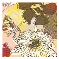 "Silhouette Garden by Kristin Emery - 13"" x 13"""