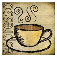 "13"" x 13"" Espresso Art"