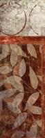 "Vert Leaves 1 by Kristin Emery - 6"" x 18"""
