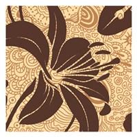 """Funky Flower by Kristin Emery - 13"""" x 13"""""""