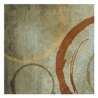 "Vintage Circles 1 by Kristin Emery - 13"" x 13"""