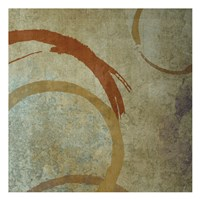 "Vintage Circles 2 by Kristin Emery - 13"" x 13"""