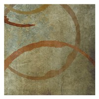 "Vintage Circles 4 by Kristin Emery - 13"" x 13"""