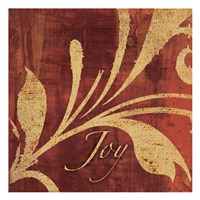 "Red Gold Joy by Kristin Emery - 13"" x 13"""