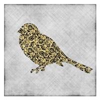 """Single Bird 1 by Kristin Emery - 13"""" x 13"""""""