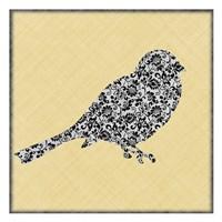 """Single Bird 2 by Kristin Emery - 13"""" x 13"""""""