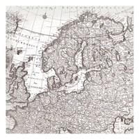 World Map 3 Fine Art Print